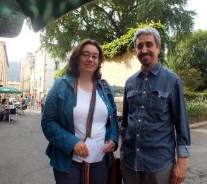 Rencontre conviviale avec Samira Negrouche, née le 13 septembre 1980 à Alger, où elle vit. Médecin, poète et traductrice de poésie arabe.