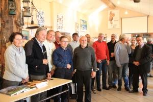 Avec mes amis Michel Etiévent et Patrick Liaudet