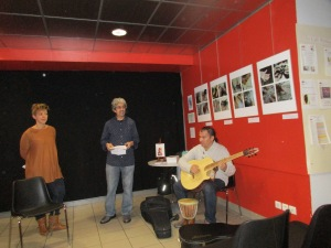 Lecture croisée le vendredi 27 novembre 2015 au Café Biollay Chambéry