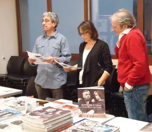 Lecture croisée au salon l'après-midi du livre le samedi 19 décembre 2015 à Albertville (SAVOIE) 2015