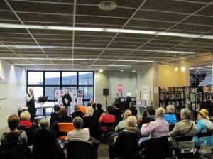 Printemps des poètes à la Médiathèque Chambéry 12 mars 2016