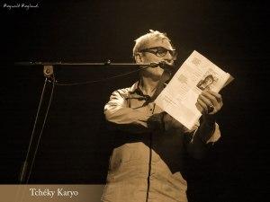 Lecture d'un de mes poèmes par Tchéky Karyo lors de son concert pour les 70 ans de l'MJC de Chambéry le vendredi 13 novembre 2015