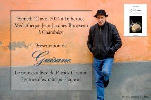 Le nouveau livre de Patrick Chemin - Guisame
